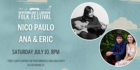 The NL Folk Festival presents Nico Paulo tickets