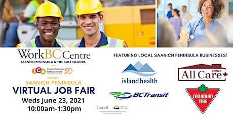 Saanich Peninsula Virtual Job Fair tickets