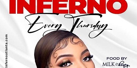Inferno Hip Hop Night Thursday @Embr Ultra Lounge tickets