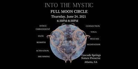 """""""Into The Mystic"""" Full Moon Circle tickets"""