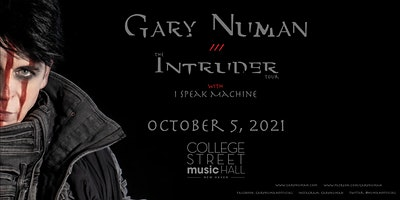 CANCELED: Gary Numan: The Intruder Tour