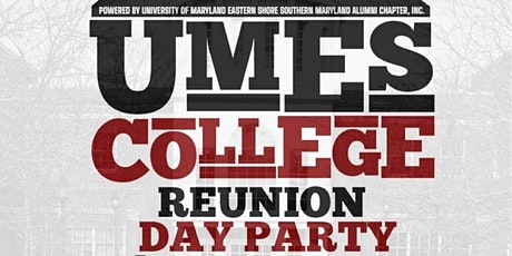 UMES College Reunion Day Party tickets