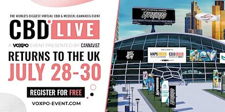 CBD LIVE UK 2021 tickets