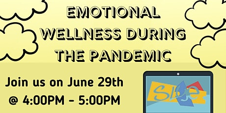 Online Roadshow: Emotional Wellness During the Pandemic tickets