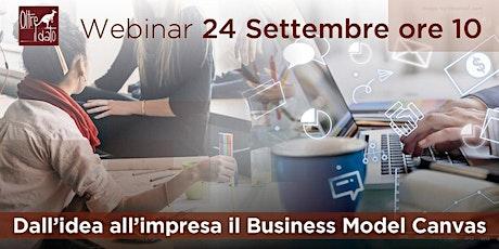 Dall'idea all'impresa: il Business Model Canvas tickets