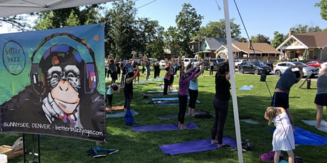 Better Buzz Yoga at SUNI Jazz in Chaffee Park tickets