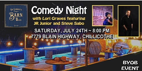 The Barn on Blain Comedy Night 2 tickets