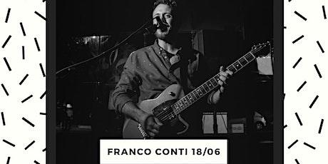 Franco Conti Viernes 18 en NRC entradas