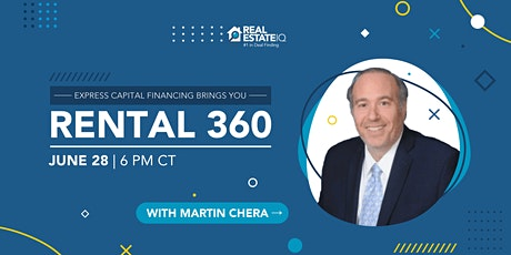Express Capital Financing brings you: Rental 360 tickets