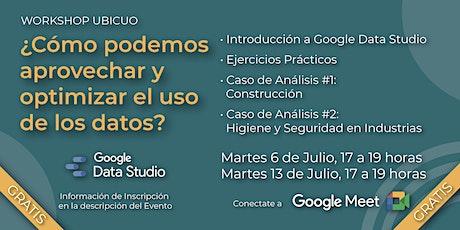 Workshop  UBICUO - Google Data Studio tickets