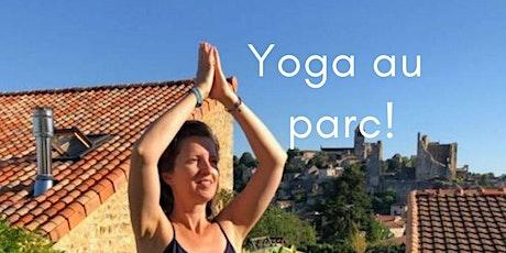Yoga au parc dans le 15ème! tickets