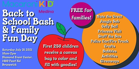 Macaroni Kid Medina Back to School Bash and Family Fun Day tickets