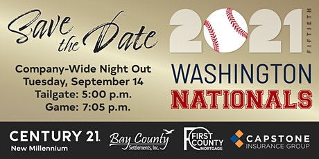 CENTURY 21 New Millennium Night Out at Nats Park tickets