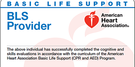 BLS CPR Course tickets