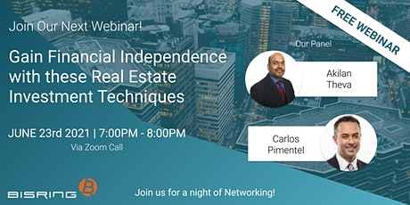 Gain Financial Independence with these Real Estate Investment Techniques tickets