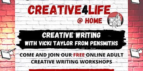 Creative Writing with Vicki  T and Verona tickets