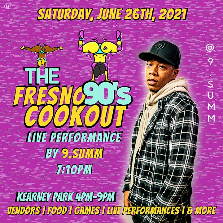 Fresno 90s Cookout image