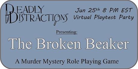 Virtual Murder Mystery Playtest tickets