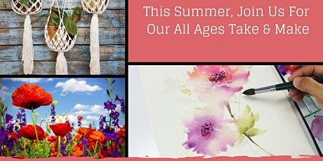 Getting Into Nature: A Monthly Take & Make for Adults, Teens & Kids tickets