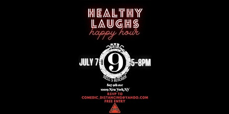HEALTHY LAUGHS HAPPY HOUR tickets