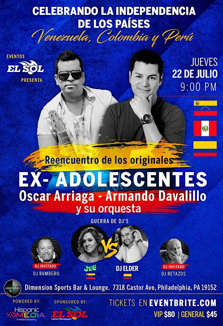 Concierto Independencia Colombia & Venezuela image