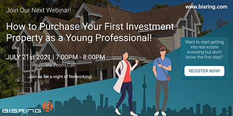 How to Purchase Your First Investment Property as a Young Professional! tickets