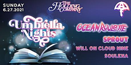 AUF Presents: Umbrella Nights w/ Ocean Roulette tickets