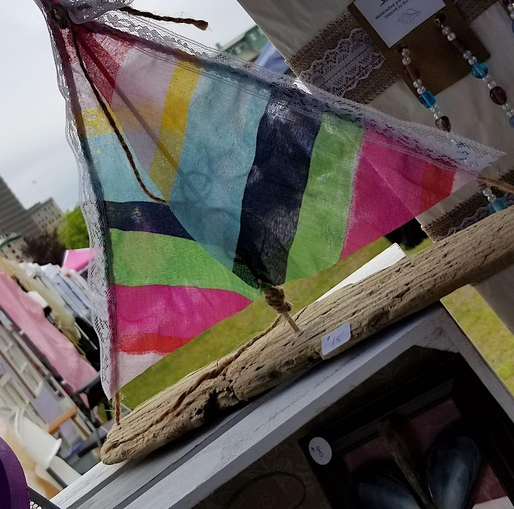 Driftwood Sailboats  with Stephanie (ages 13 to adult) image