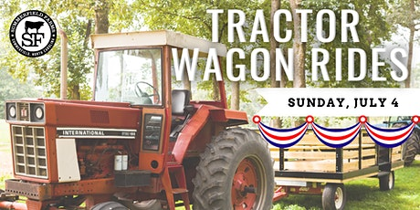 Fourth of July Tractor Wagon Rides tickets