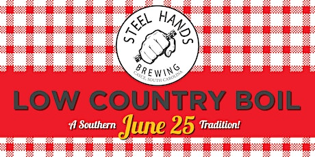 Steel Hands Low Country Boil tickets