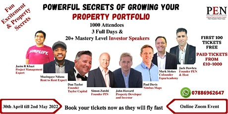 Powerful Secrets of Growing Your Property Portfolio tickets