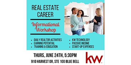 Real Estate Agent Informational  Night tickets