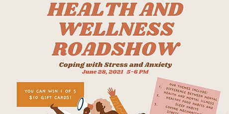 Online Roadshow: How to Cope With Stress and Anxiety tickets