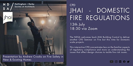 JHAI - CPD Seminar: Fire Safety in New & Existing Homes tickets