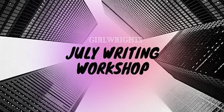 GirlWrights July Writing Workshop Week tickets