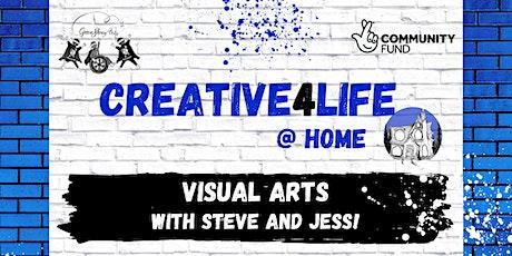 Visual Arts with Steve, Jess and Verona tickets