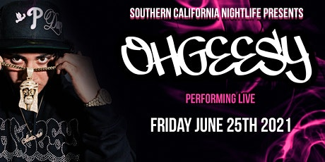 OHGEESY from Shoreline Mafia Performing LIVE at DQ Nightclub in LA! tickets