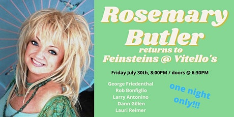 Rosemary Butler Live! tickets