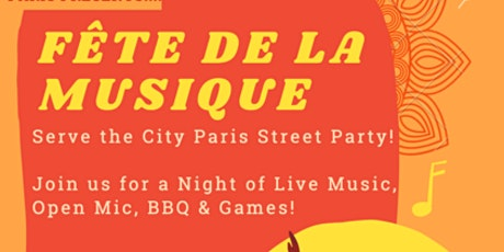 """FÊTE DE LA MUSIQUE """"STREET PARTY"""" billets"""