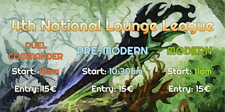 4th National Lounge League Tickets