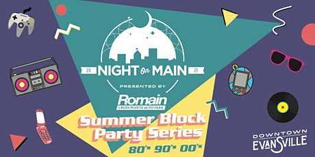 Discounted Admission for all 3 Night on Main Dates tickets