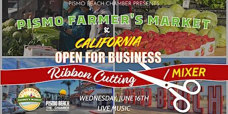 Pismo Beach Farmers Market & REOPEN Celebration tickets
