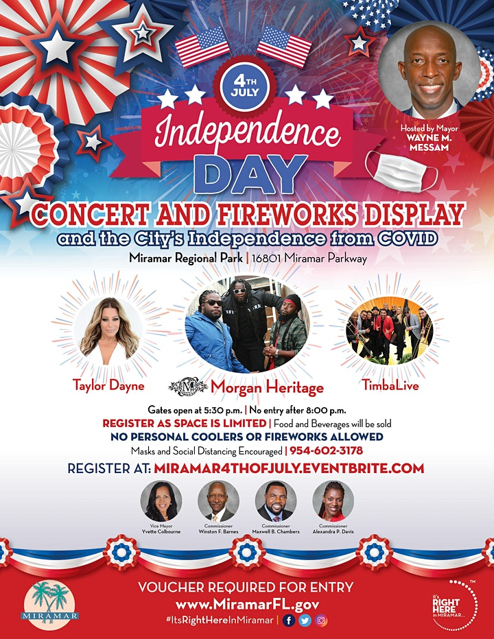 4th of July Independence Day Concert and Fireworks Display image