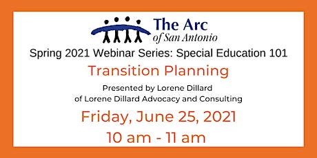 Special Education 101: Transition Planning tickets