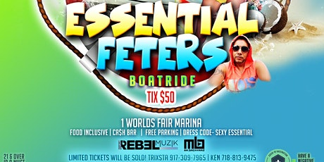 ESSENTIAL FETERS BOATRIDE  QUEENS NY 2021 tickets