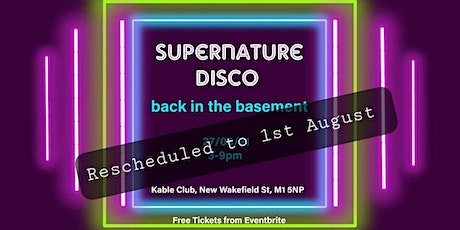 Supernature Disco: Back in the Basement tickets