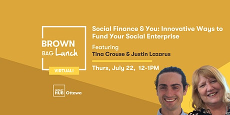 Social Finance & You: Innovative Ways to Fund Your Social Enterprise Tickets