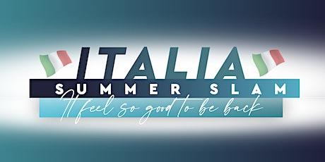 Make the Difference - Italia Summer Slam biglietti