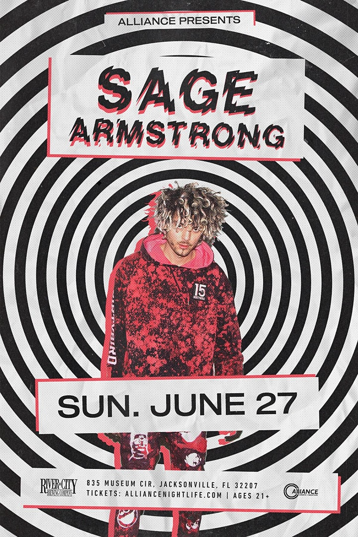 Alliance presents: Sage Armstrong - Jacksonville, image