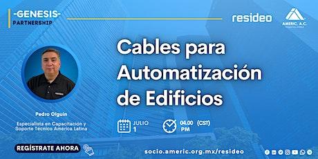 GENESIS PARTNERSHIP   Cables de automatización de edificios boletos